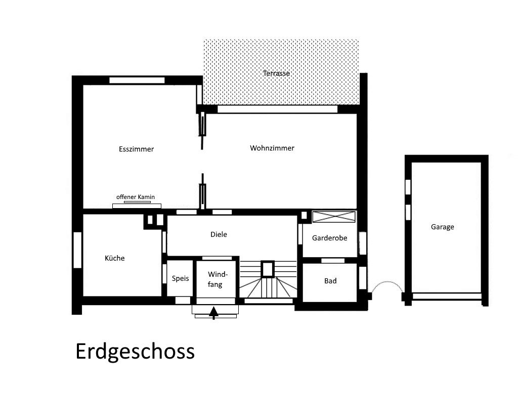 Geräumiges Einfamilienhaus mit Garten in bevorzugter Wohnlage mit ...