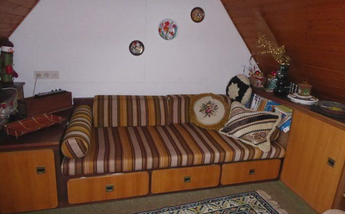 Kleines Zimmer im Spitzboden